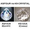 "Picture of 24"" Sfera Modern Crystal Flush Mount Round Chandelier Polished Chrome  / Brushed Nickel 15 Lights"