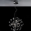 """Picture of 18"""" Tempesta Modern Crystal Round Chandelier Polished Chrome 12 Lights"""