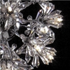 """Picture of 21"""" Petali Modern Crystal Table Lamp Polished Chrome 5 Lights"""