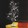 """Picture of 42"""" Albero Modern Crystal Branch Table Lamp Polished Chrome 12 Lights"""