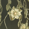 """Picture of 33"""" Fiore Modern Crystal Round Flush Mount Polished Chrome 6 Lights"""