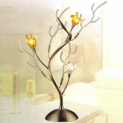 "Picture of 21"" Rosso Modern Branch Table Lamp Brass 3 Lights"