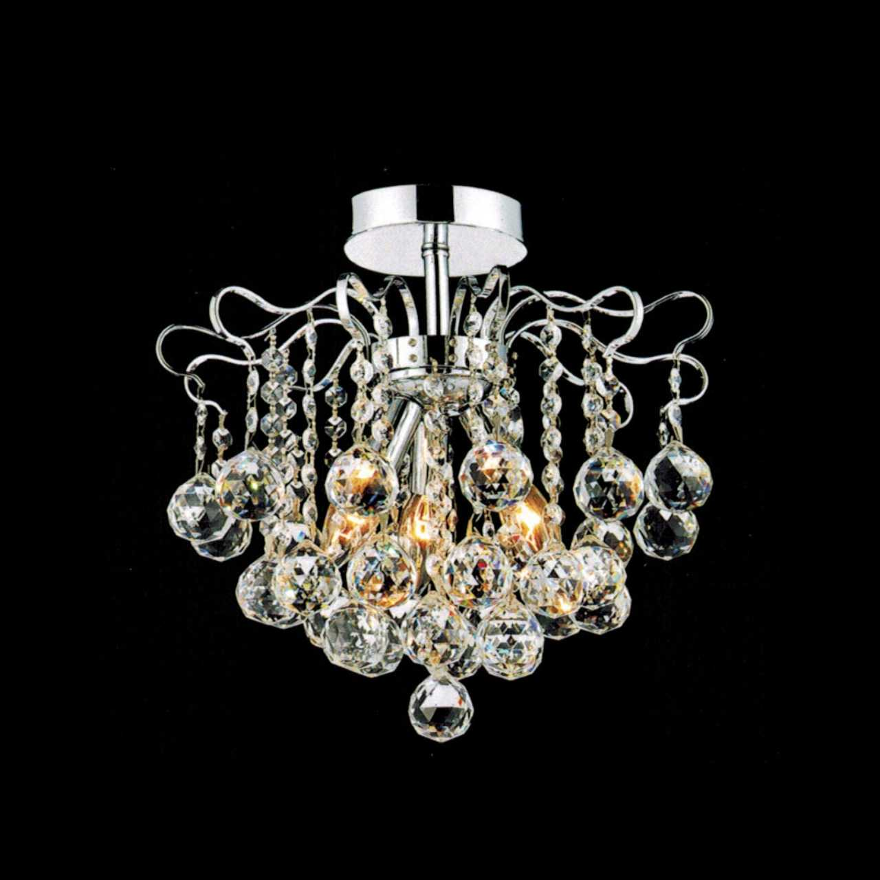 brizzo lighting stores 14 formosa crystal semi flush