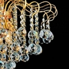 """Picture of 18"""" Formosa Crystal Round Chandelier Chrome / Gold 9 Lights"""