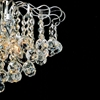 "Picture of 24"" Formosa Crystal Round Chandelier Chrome / Gold 12 Lights"