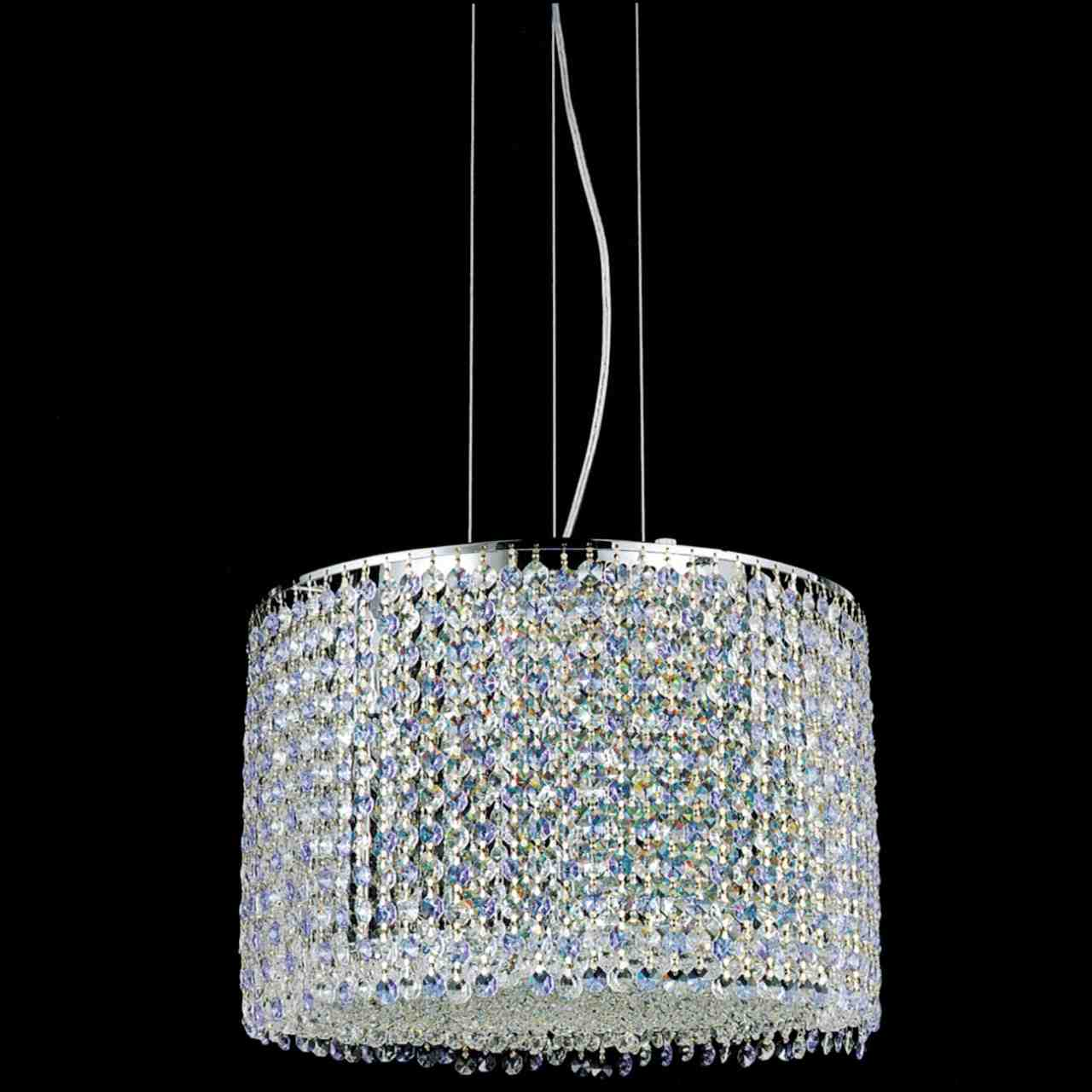 Brizzo Lighting Stores 16 Rainbow Modern Round Crystal
