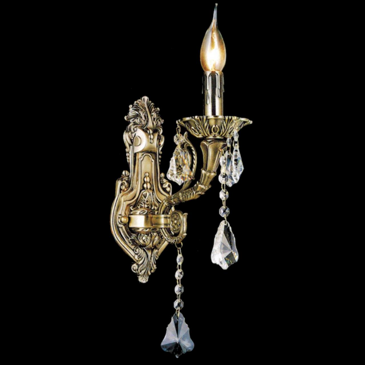 Wall Sconces With Crystal : Brizzo Lighting Stores. 13