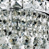 """Picture of 18"""" Primo Transitional Crystal Round Chandelier Chrome / Gold 12 Lights"""