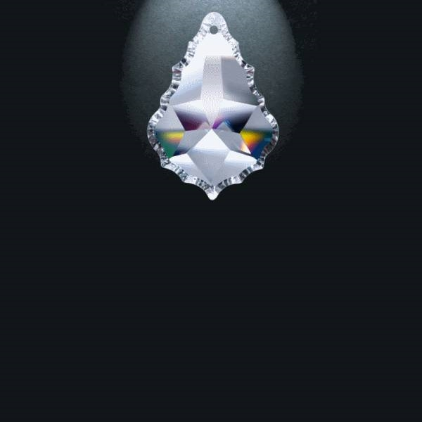 """Picture of 2"""" Asfour Crystal Pendalogue 30% PbO 911-2"""
