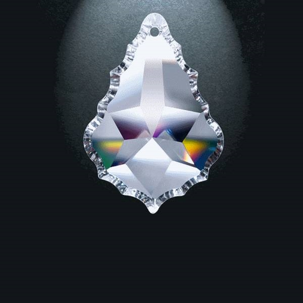 "Picture of 3"" Asfour Crystal Pendalogue 30% PbO 911-3"