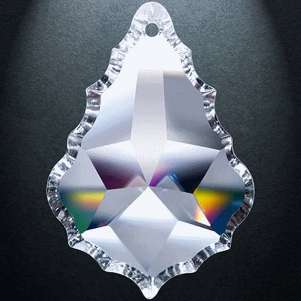 """Picture of 4"""" Asfour Crystal Pendalogue 30% PbO 911-4"""